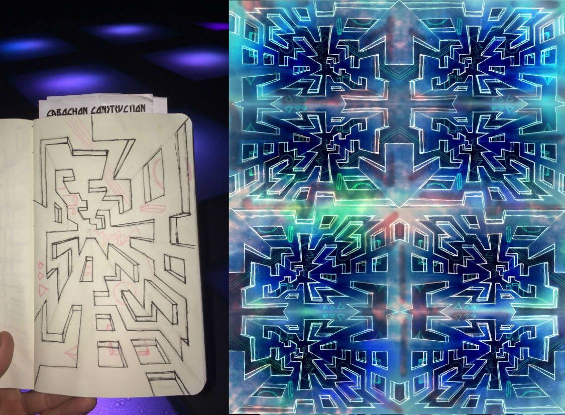 geometry - vortex sketch