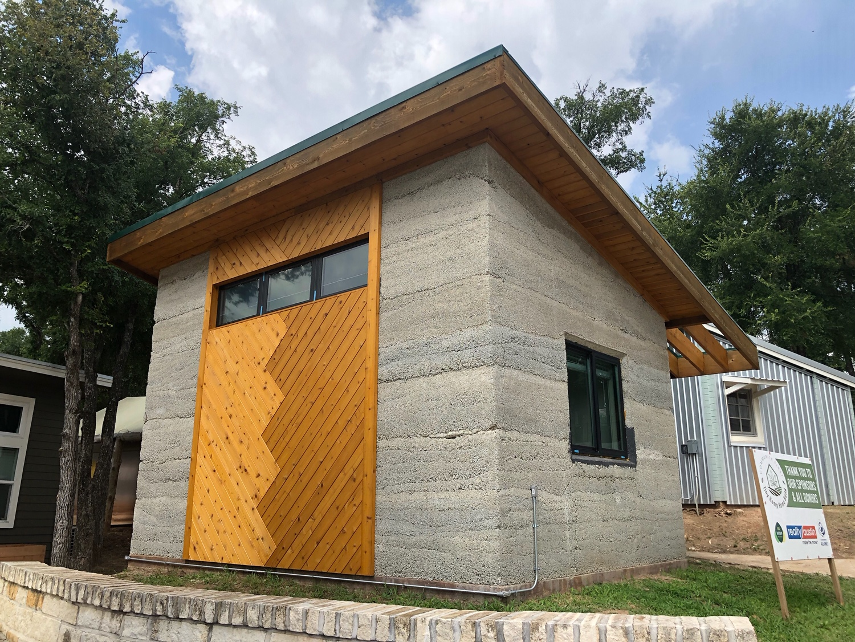 Hemp House pre-plaster