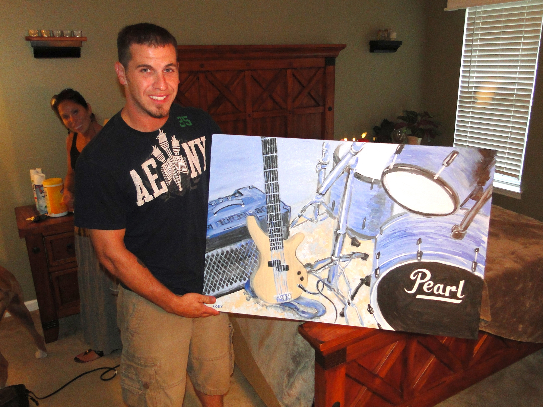 Joe+with+Painting
