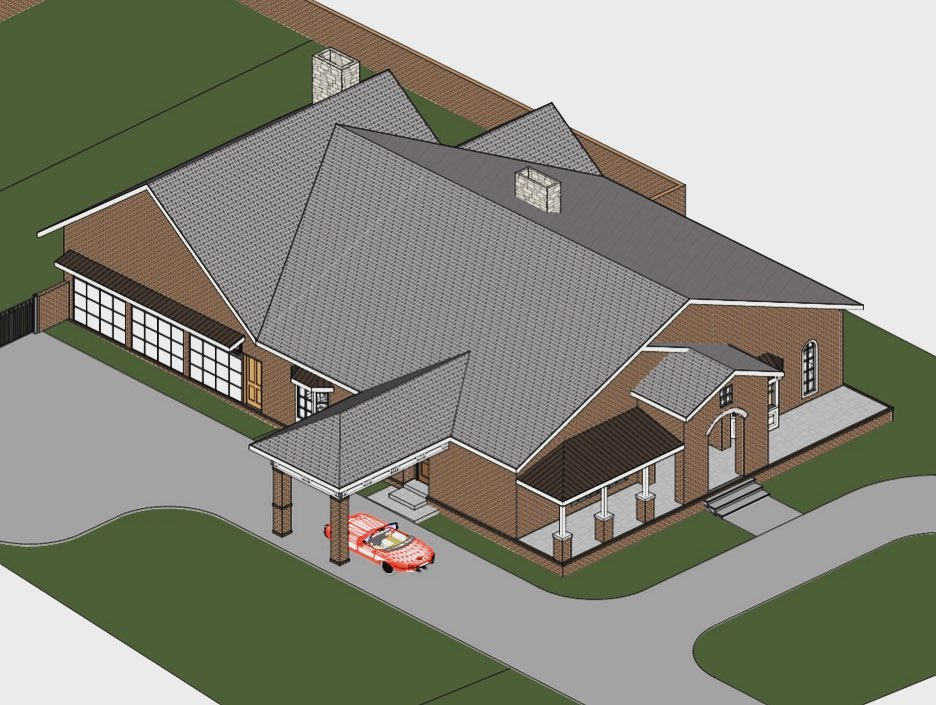 Mother House rendering