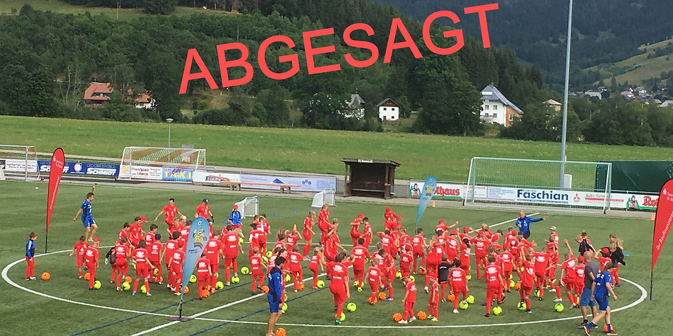 ABSAGE des 4. Sparkassen-Fussball-Camp