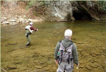 Fly Fishing Lessons Instruction