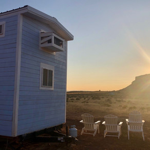 Off-Grid Utah Tiny House