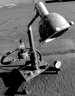 Army Bowl Lamp