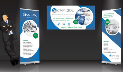 Retractable Bannerstands and Poster