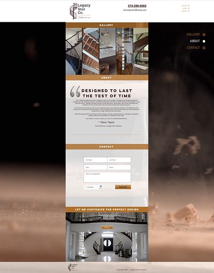 Basic Package: WIX Business Site