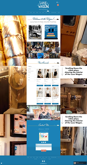 VIP Package: WIX ecommerce site