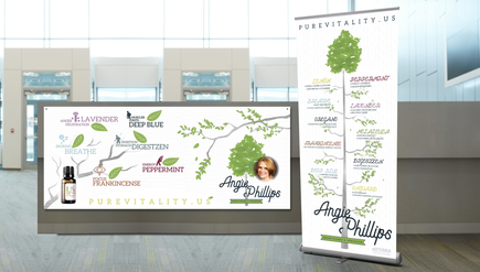 Retractable Bannerstand and Poster