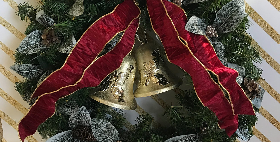 Jingle Bells Door Wreath