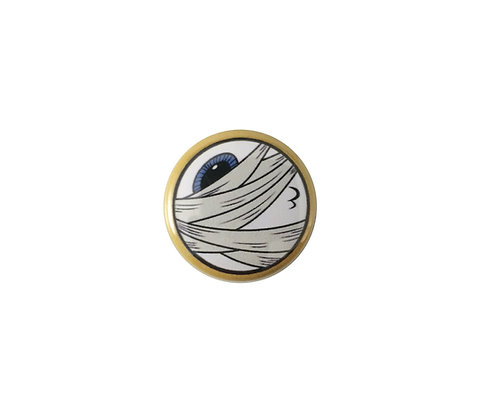 Mummy eyeball pin