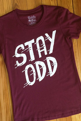 Girls Stay Odd tee