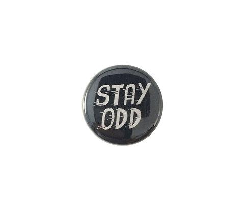 Stay Odd  pin