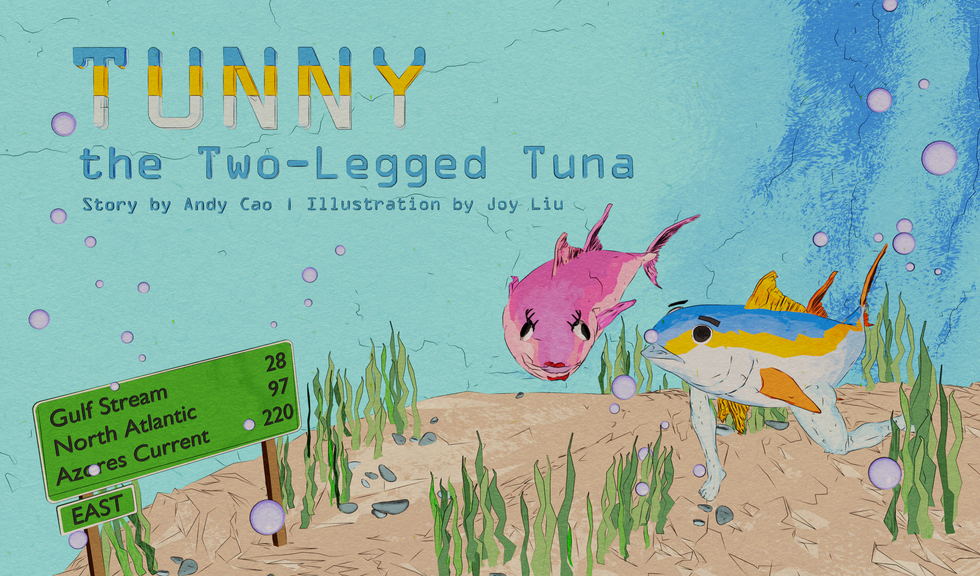 Tunny the Two-Legged Tunna - A Picture Book