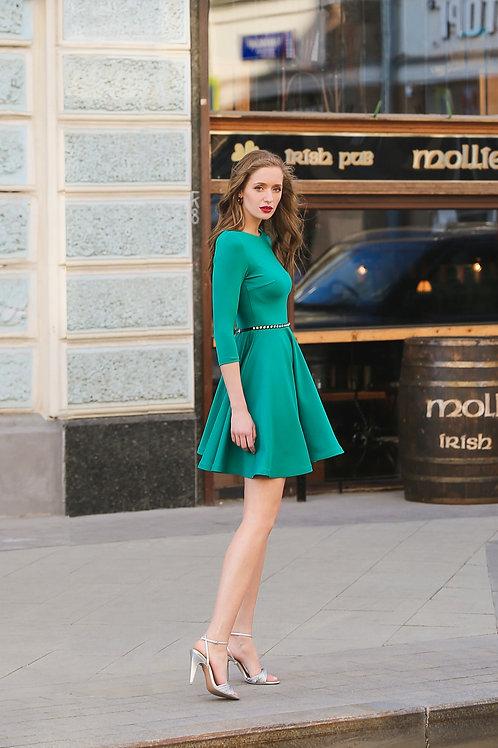 Приталенное платье мини