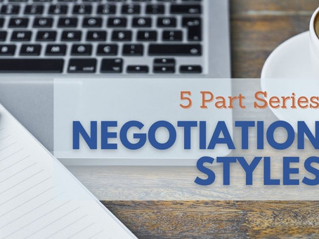 Introduction To 5 Styles of Negotiation