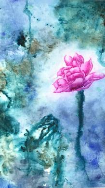 墨荷禪境 No.3   Lotus Zen No.3