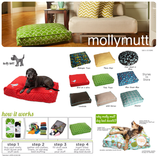 DIY: Molly Mutt Dog Duvets