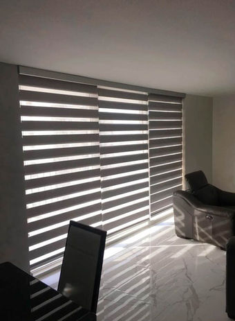 Zebra Blinds in Home