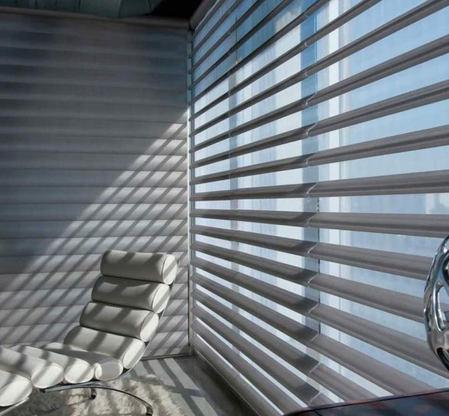 Zebra Blinds Livingroom