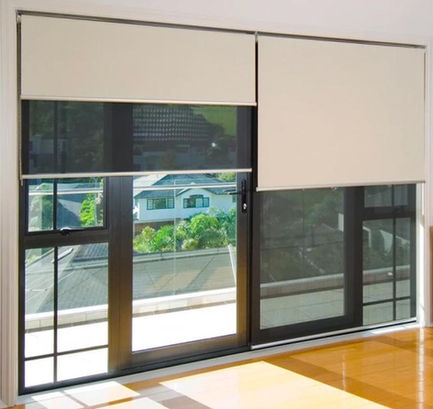 Custom Double Roller Blinds