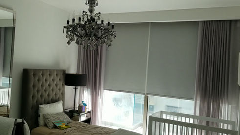 Roller Shades & Curtains