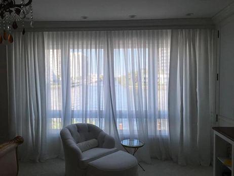 Custim Sheer Curtains Living Room