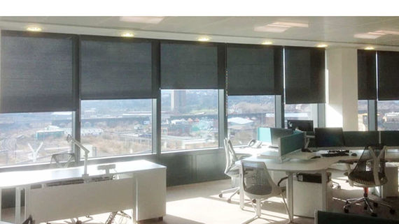 Custom Roller Shades 3% Commercial