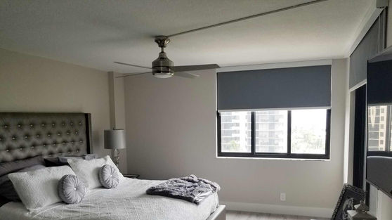 Custom Blackout Roller Shades