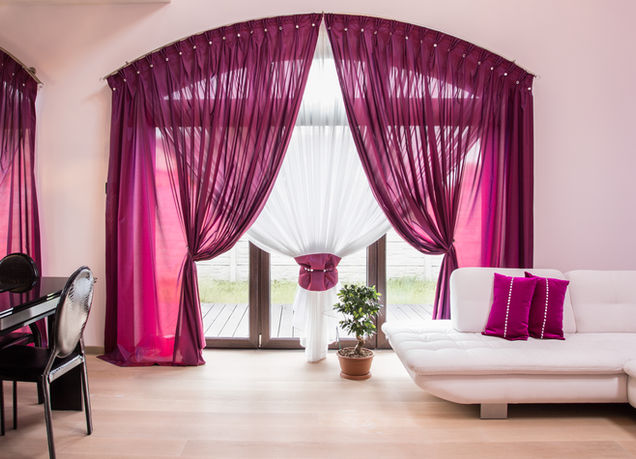 Elegant Window Drapes