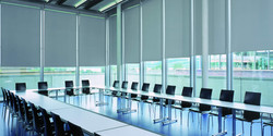 Commercial Roller Shades Blackout