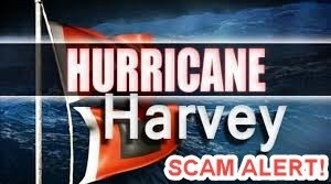 Beware of Hurricane Harvey Online Scams!