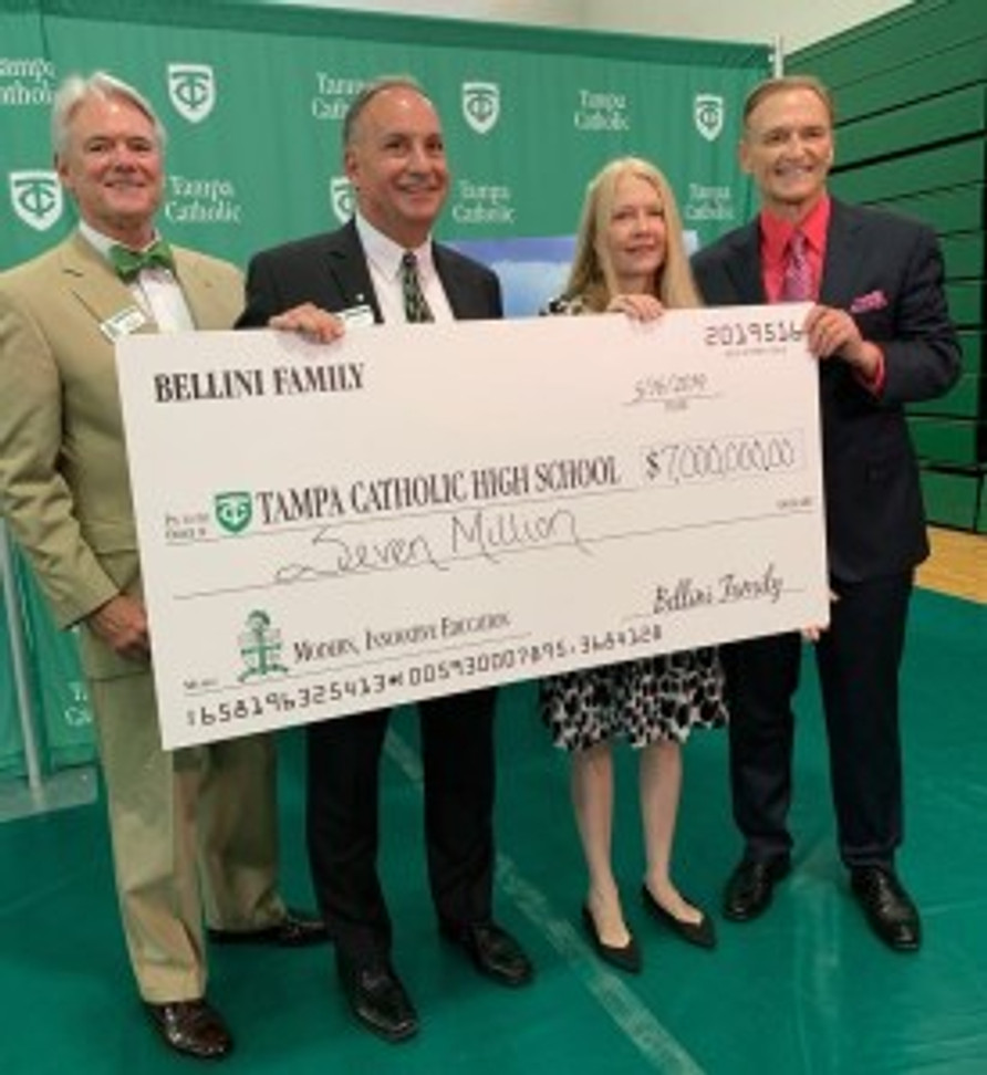 Arnie Bellini Donation