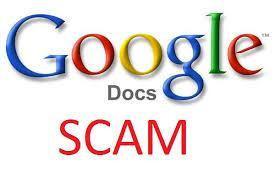 GoogleDocsScam