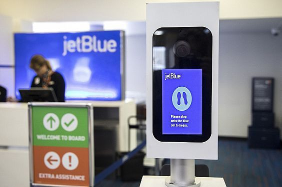 jetBlue Self Boarding