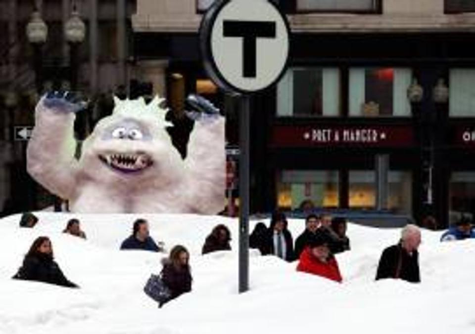 Snowman Boston