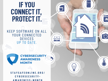 This Weeks Cybersecurity Awareness Month Theme