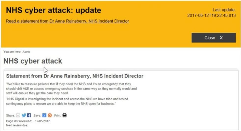 NHS Homepage