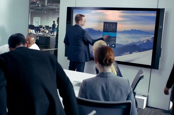 Microsoft-Surface-Hub-in-Use