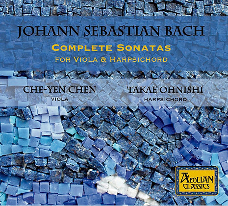 Bach Sonatas for Viola & Harpsichord