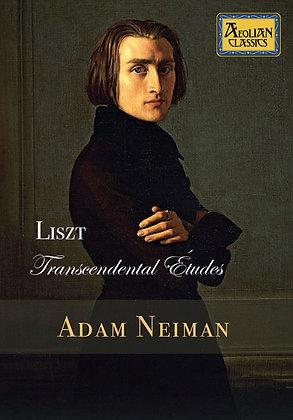 Adam Neiman - Liszt Transcendental Études, DVD