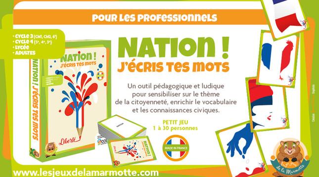 NATION ! J'écris tes mots