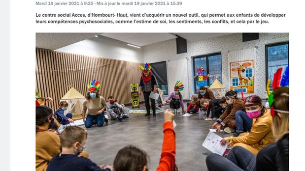Voyage en Moselle du 4 au 8 janvier 2021 au Centre social ACCES HOMBOURG-HAUT