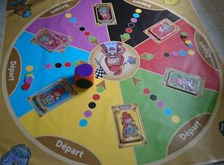 Présentation du jeu géant Laïque'Cité© à la fête Interculturelle du Mans (72)