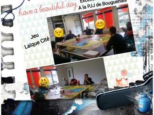 intervention/formation avec la PJJ à Bouguenais