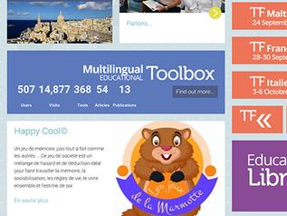 Une boîte à outils péda, une bibliothèque et un magazine en ligne : le 3 en 1 du portail de SALTO YO