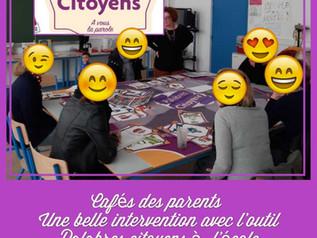 """A l'école élémentaire les marsauderies sur le thème """"les discriminations/inégalités à l&#39"""