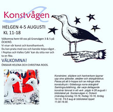 UPDATE 3 Konstvåg Öckerö. Art Walk.