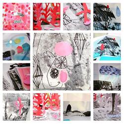 Vinter collage _)