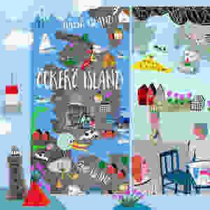 Hi...Hej! Here is my Good Feeling Map I draw to THEY DRAW & TRAVEL ...  Öckerö Island, Sweden by Christina Roos THEYDRAWANDTRAVEL.COM