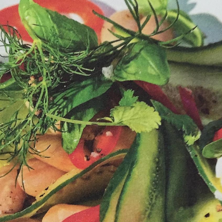 Salat_Gurken_Bohnen_limetten